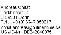 Impressum von GuenstigeUnfallversicherung.de
